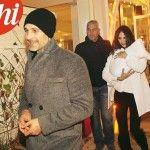 Raoul Bova e Rocio Munoz Morales: prima uscita in pubblico con la figlia Luna