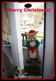 This story will inspire you. A kid asks Santa for a pet reindeer and this shows up on his porch on Christmas morning! No one knows how it got there.  So awesome!  | humor | Dear Santa | presents