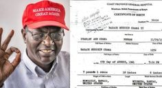WOW! BARACK'S BROTHER MALIK OBAMA Just Tweeted Obama's Birth Certificate…And It's Not From Hawaii [...] 03/09/17