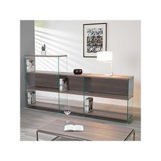 libreria m. breuer mobili design   bauhaus re edition   arredo ... - Consolle Byblos Tavolo Allungabile Legno Massello