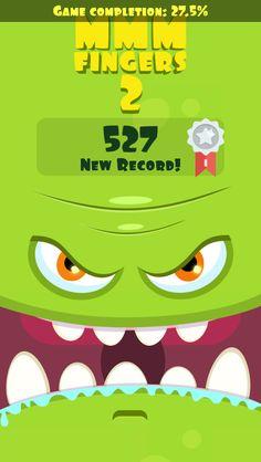 I scored 527 points in Mmm Fingers 2! Can you beat my score? #mmmfingers2