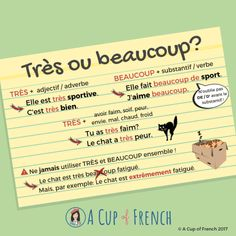 TRÈS ou BEAUCOUP ? | A Cup of French