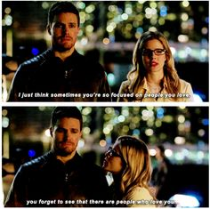"""#Arrow #3x19 Broken Arrow #OliverQueen #FelicitySmoak 