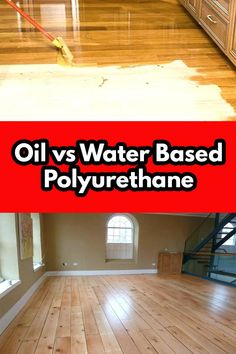Best Wood Flooring, Old Wood Floors, Natural Wood Flooring, Refinishing Hardwood Floors, Diy Flooring, Plank Flooring, Wood Floor Finishes, Hardwood Floor Colors, Polyurethane Floors
