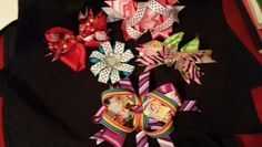 Get your hair bows today for your little princess!