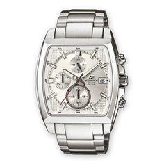 ¡Chollo! Reloj Casio EFR-524D-7AVEF con correa de acero inoxidable por sólo 70 euros.
