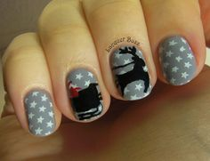 Reindeer and Sleigh on Lacquer Buzz
