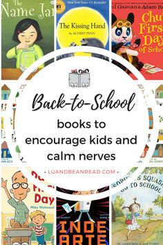 Back to school kids books