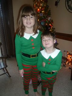 Day 6: Happy St. Nicholas Day Fred brought the kids elf pajamas!!