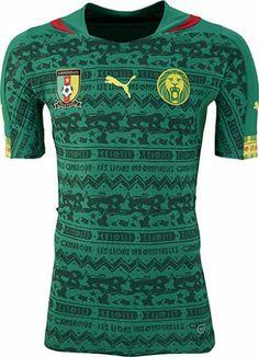 Cameroon (Fédération Camerounaise de Football) - 2014 World Cup Puma Home  Shirt 82ca6f25d