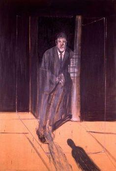 Francis Bacon,  Portrait of Lucian Freud, 1951