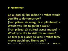 Engleza simplu ca ABC- Pasul 6, Lectia 293 Romanian Language, Grammar, Tips, Books, Ideas, Libros, Book, Book Illustrations, Thoughts