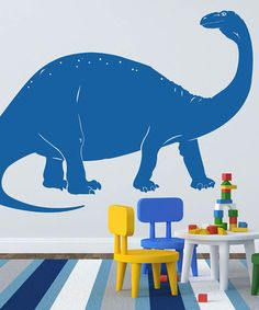 Take a look at this Apatosaurus Wall Decal by Sissy Little on #zulily today!