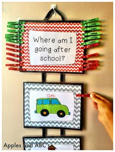 Could be used for behaviour monitoring: have each peg with a student name and different levels of behaviour