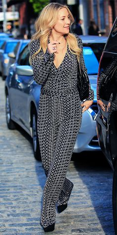 Look of the Day - May 25, 2014 - Kate Hudson in Diane von Furstenberg from #InStyle