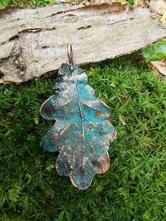 Electroforming leaf necklace gift for her necklace jewelry
