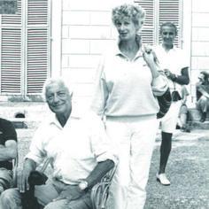 Gianni Agnelli and Marella Agnelli in Turin. Photo by Camilla Pecci Blunt McGrath.