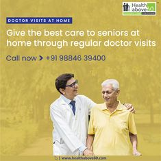 Worried about missing out on regular visits of your parents? Avail doctor visits at home for seniors. Home Doctor, Doctor On Call, Chennai, No Worries, Health Care, Parents, Dads, Raising Kids, Parenting Humor