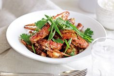 Recreate the flavours of Singapore chilli crab at home. It's a lot quicker and easier than you might think.