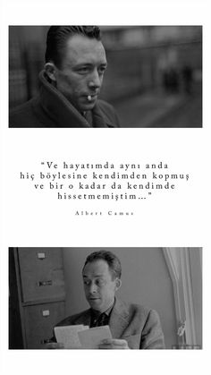 Like Quotes, Book Quotes, Albert Camus, Wallpaper Quotes, Cool Words, Quotations, Literature, Writer, Lyrics