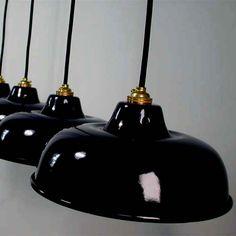 ART DECO Bauhaus Lampe LOFT Fabriklampe INDUSTRIELAMPE EMAILLELAMPE EMAILLE | eBay