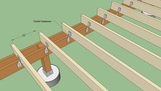 Building A Deck 451415562650108088 - Fastening joists to ginder Source by annshoff Pool Deck Plans, Deck Building Plans, Building A Floating Deck, Floating Deck Plans, Patio Deck Designs, Deck Design Plans, Deck Framing, Deck Steps, Deck Posts