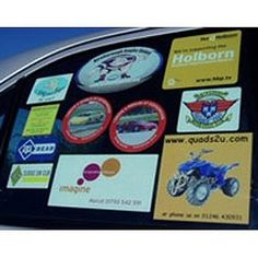 Remove Stickers from Car Windows