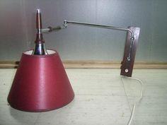 vintage retro wandlamp - Prijs: € 15,00