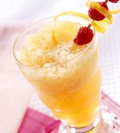 Peachy Apricot Slush    Because this peachy-keen sipper is low in calories and fat, you'll have no trouble fitting it into your summer meal plans.    via: www.diabeticlivingonline.com  www.myrealhealth.com