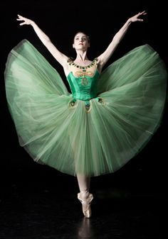 Ballet West Demi-Soloist Emily Adams ~ Photo by Erik Ostling