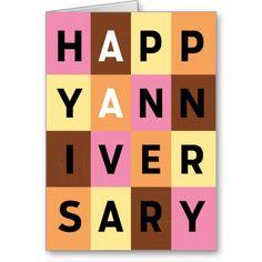 AA Greeting Card: Anniversary