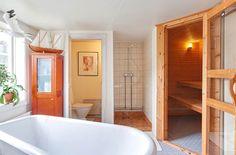 ispirazioni nordiche! bagno con sauna...