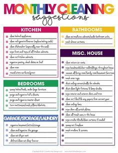 Weekly Cleaning, Deep Cleaning Tips, Cleaning Hacks, Cleaning Lists, Cleaning Schedules, Speed Cleaning, Diy Cleaning Products, Cleaning Solutions, All You Need Is