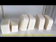 Cea mai simpla reteta pentru a face sapun de casa / Handmade soap - YouTube Handmade Soaps, Soap Making, Home Remedies, Projects To Try, Youtube, Diy, Health, Homemade, Food