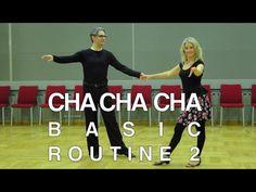 How to Dance Cha - Basic Routine 5 - YouTube