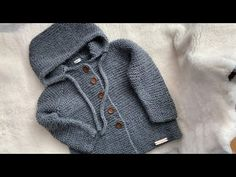 Crochet Coat, Knitting, Sweaters, Youtube, Fashion, Crochet For Baby, Baby Layette, Craft Ideas, Knitting And Crocheting