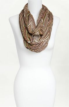 """Infinity scarf, 62"""" circumference x 20.5"""" wide.  Lightweight.  I could sew this."""
