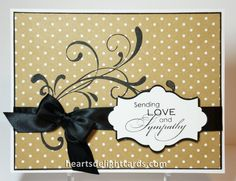 Love & Sympathy by Cards4Ever - Cards and Paper Crafts at Splitcoaststampers