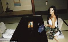 'Say cheese!' Kim Kardashian shares intimate pictures from Kanye West's birthday trip to Japan Estilo Kardashian, Kardashian Style, Kardashian Jenner, Kendall Kardashian, Kanye West Birthday, Kim Kardashian Photoshoot, Kendall Jenner Dress, Kim And Kanye, Intimate Photos