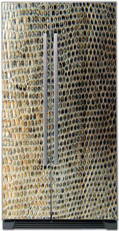 Fridge Sticker – Crocodile skin