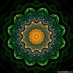 Mandala_green