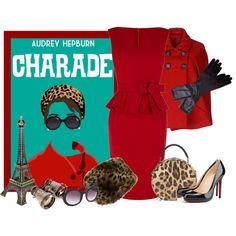 """""""Audrey Hepburn in Charade"""""""