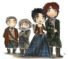 Outlander - Lexi might be able to draw this. @AlexisSDF2000