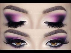♡ Glam Deep Purple ♡ Matte Make Up Tutorial | Melissa Samways - YouTube