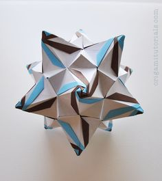 Megapolis Kusudama Tutorial   Origami Tutorials