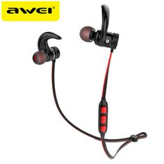 AWEI A920BLS Bluetooth Earphone A920BL Pro Wireless Headphone Sport Headset Auriculares Cordless Headphones Casque 10h Music  Price: 17.64 USD
