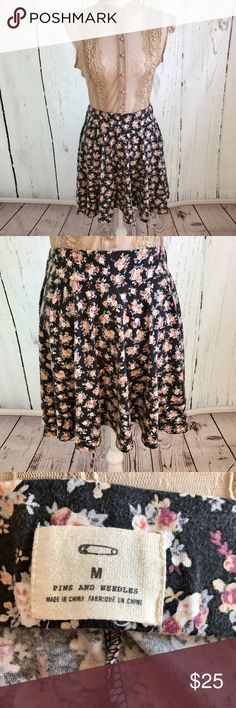 Urban Outfitters Pins and Needles Skirt Adorable Pins And Needles Brand mini skirt from Urban Outfitters. 95% cotton and 5% spandex blend. 🚫Trades ✅Open to reasonable offers Urban Outfitters Skirts Mini