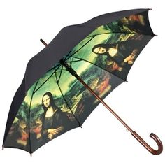 """Paraguas de doble capa de Leonardo Da Vinci """"La mona lisa"""""""