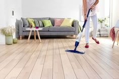 Guide for the Maintenance of Wood and Laminate Floors Home Study, Laminate Flooring, Homemaking, Home Appliances, Couch, Furniture, Design, Alter, Home Decor