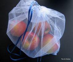 Beutel für Obst und Gemüse nähen Beispiel 1